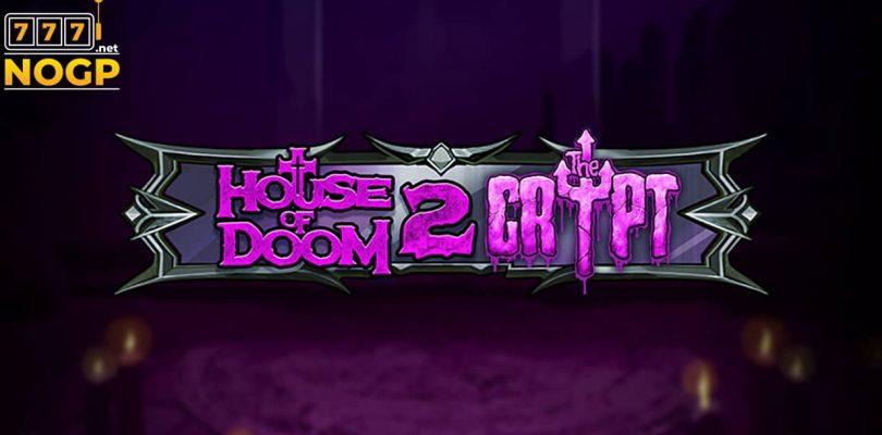 House of Doom 2 The Crypt video slot logo