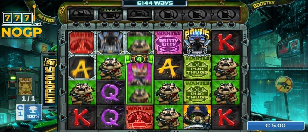 Nitropolis 2 slot - Screenshot