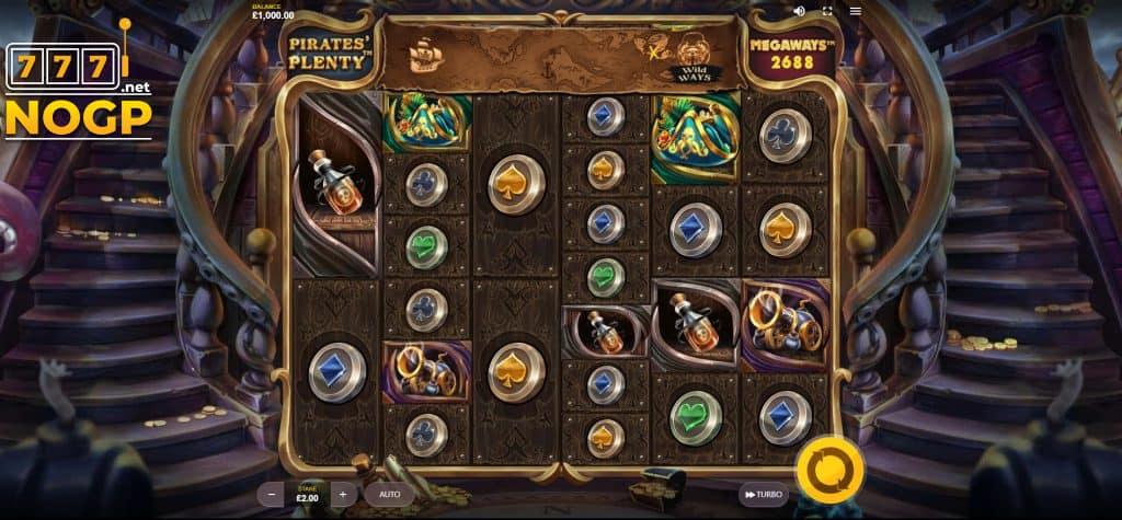Pirates Plenty Megaways screenshot
