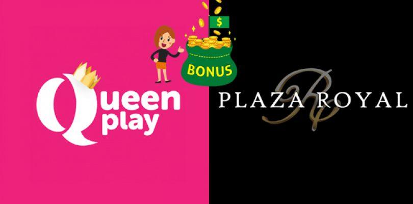 Hoge welkomstbonus Queenplay en Plaza Royal Casino