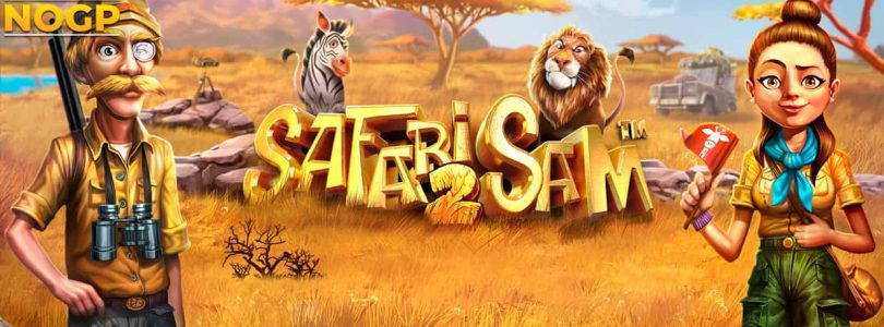 Safari Sam 2 video slot logo
