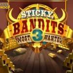 Sticky Bandits 3 video slot logo