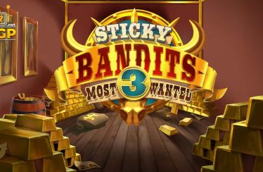 Sticky Bandits 3 video slot logo