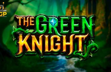 The Green Knight slot logo