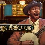 The Paying Piano Club video slot logo