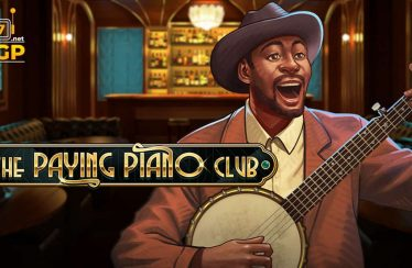 The Paying Piano Club video slot logo