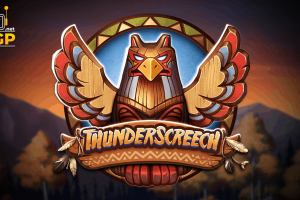 Thunder Screetch video slot logo