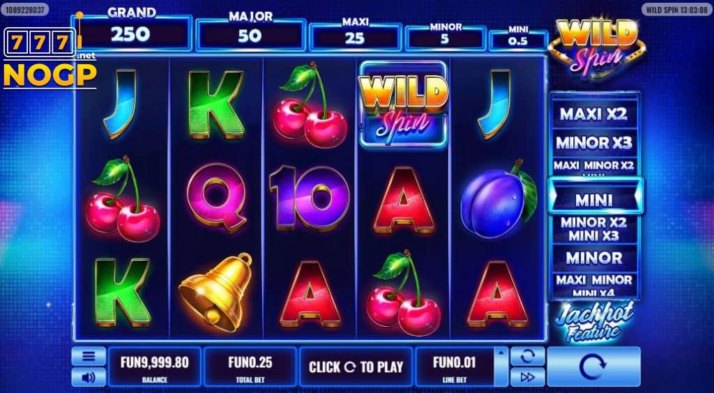 Wild Spin slot screenshot