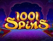 1001 spins video slot logo
