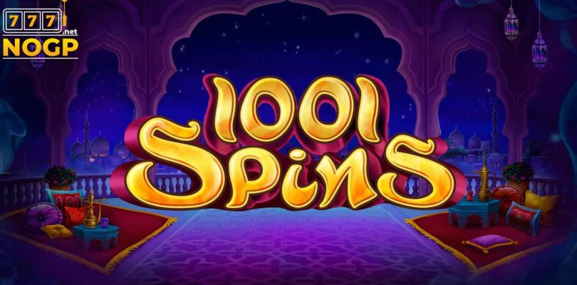 1001 spins video slot logo