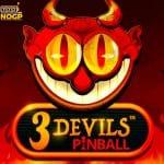 3 Devils Pinball slot logo