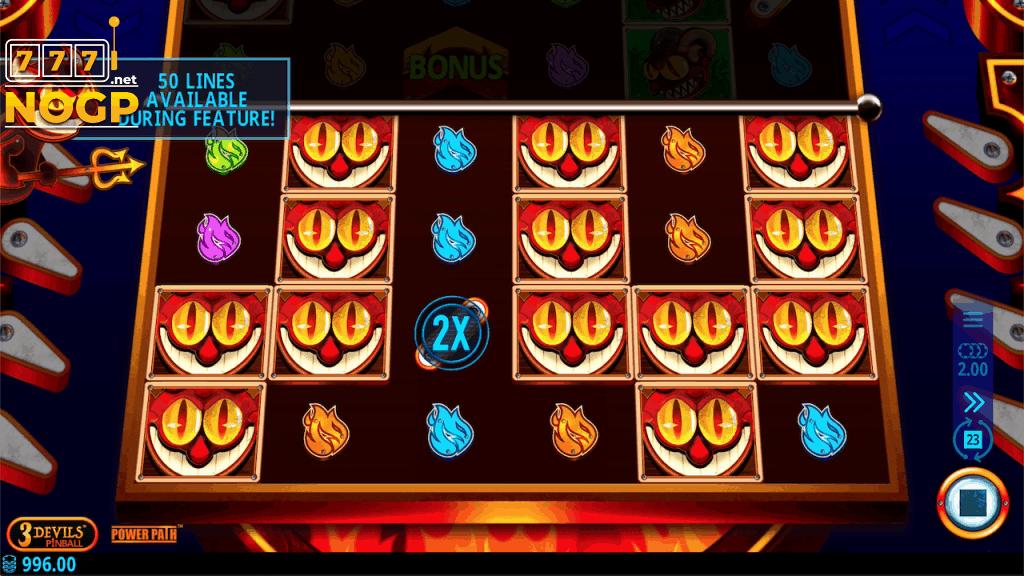 3 Devils Pinball screenshot