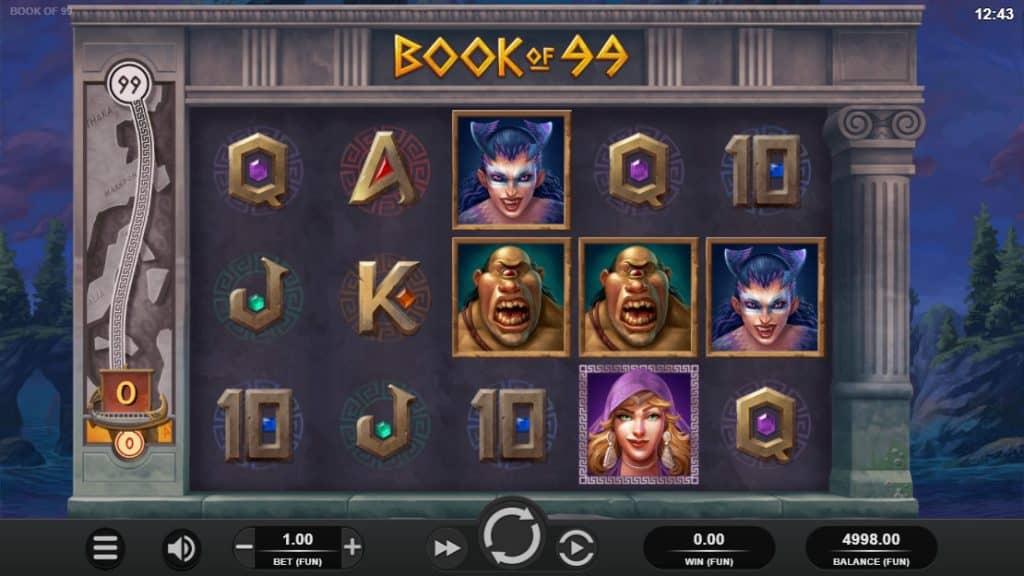 Vault Cracker video slot screenshot