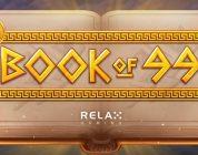 Book of 99 video slot logo