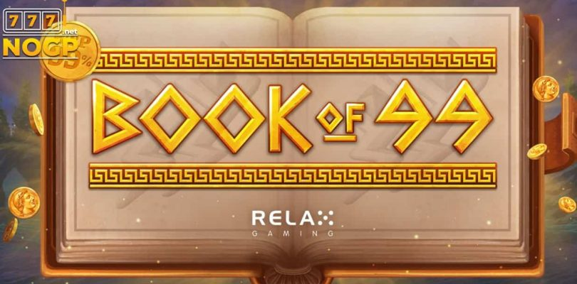 Book of 99 video slot logo