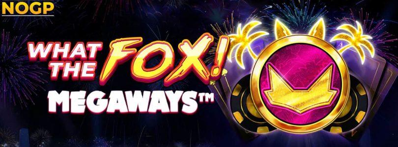 What The Fox megaways slot logo