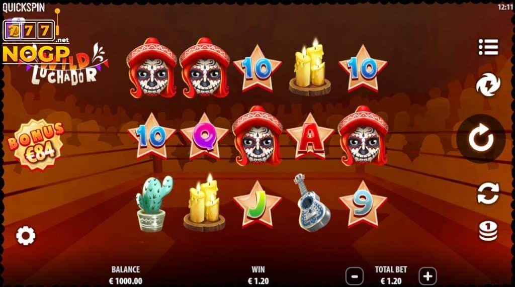 Wild Luchador slot screenshot