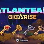 Atlantean Gigarise slot logo