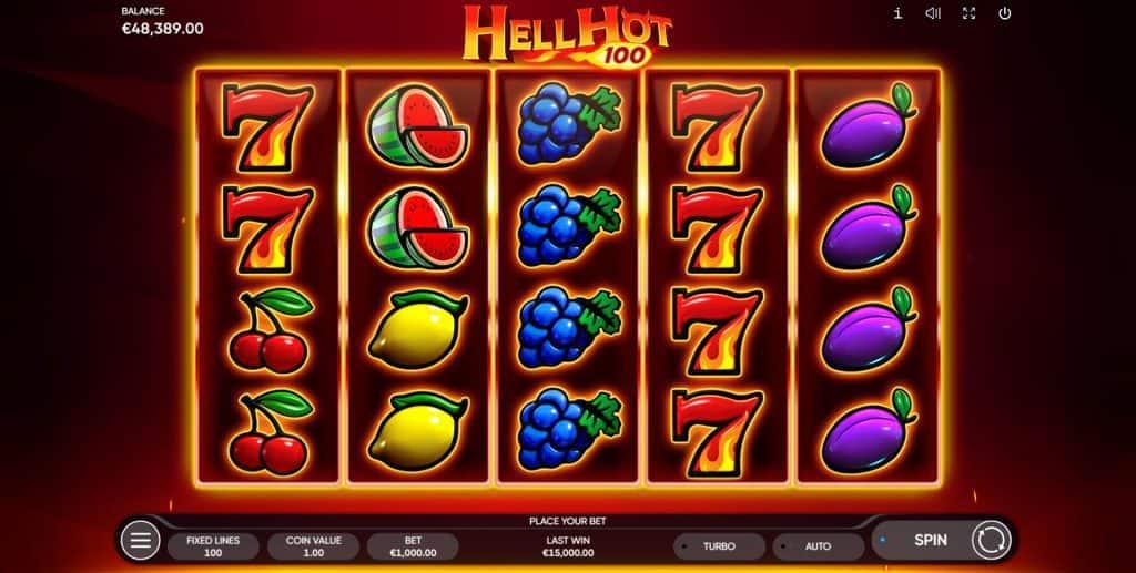 Hell Slot 100 gokkast