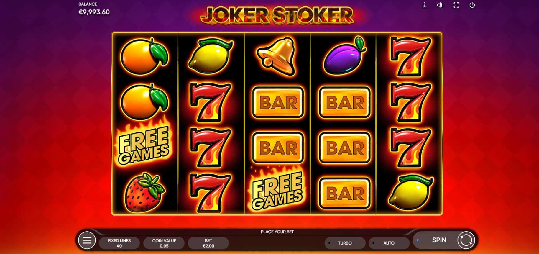 Joker Stoker screenshot