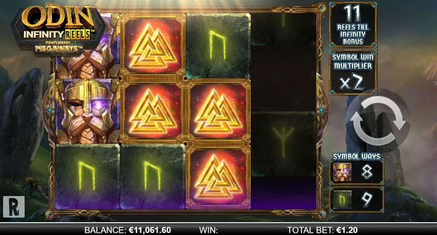 Odin Infinity Reels ft. Megaways screenshot