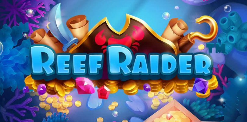Reef Raider video slot logo
