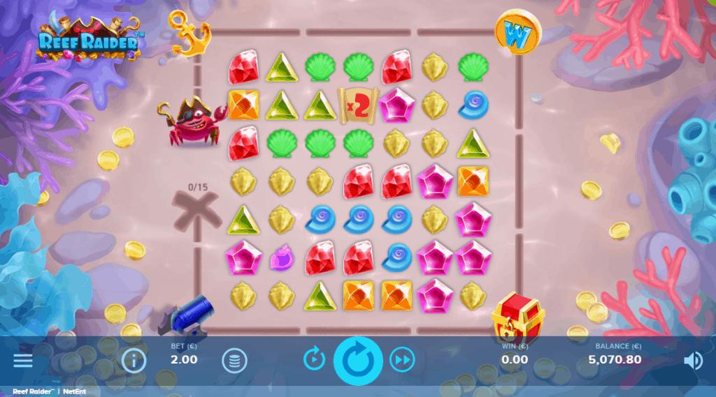 Reef Raider slot screenshot