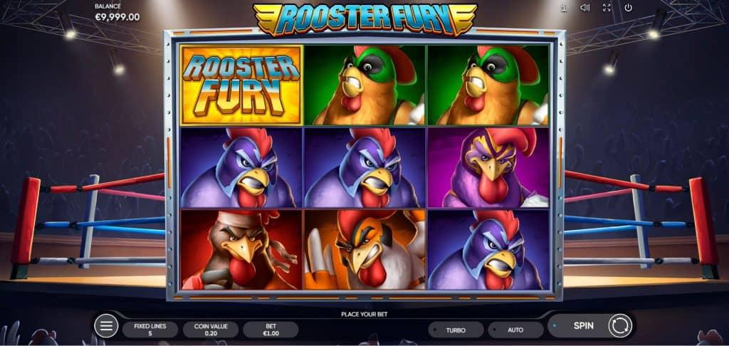 Endorphina's Rooster Fury gokkast