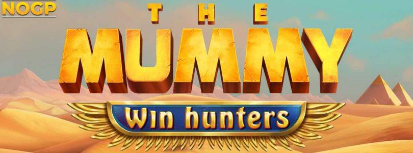 The Mummy Win Hunter video slot logo