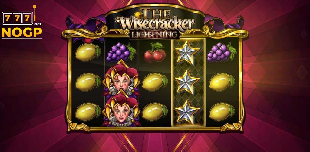 Wisecracker Lightning video slot screenshot