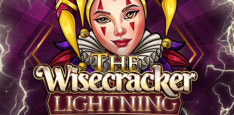 The Wisecracker Lightning slot logo