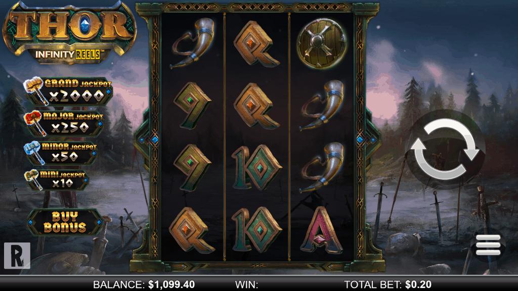 Thor Infinity Reels screenshot