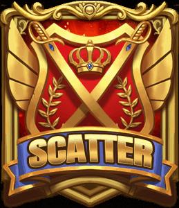 Swords and Sabres Charge Gigablox scatter symbol