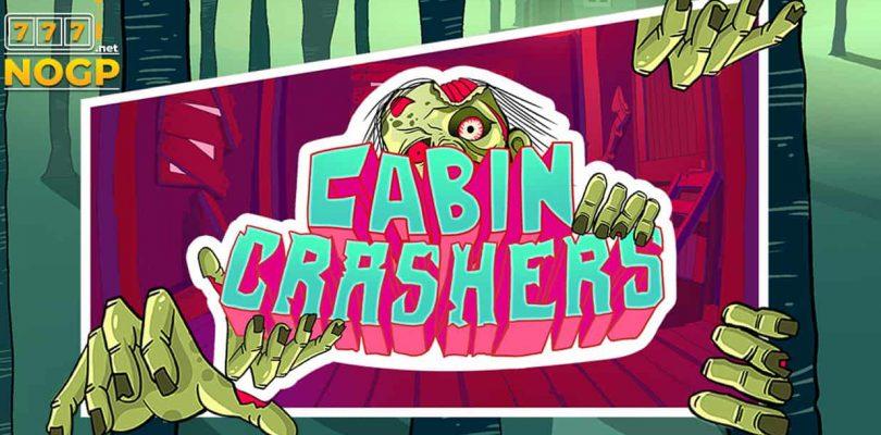 Cabin Crashers video slot logo