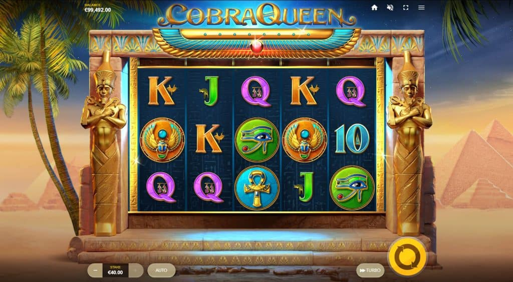 Cobra Queen slot screenshot