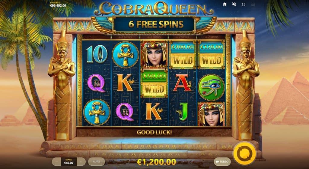 Cobra Queen Free spins