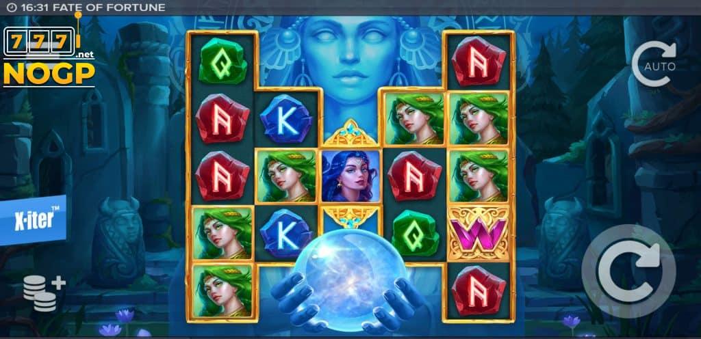 Fate of Fortune video slot screenshot