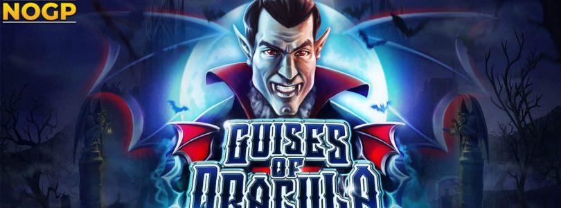 Guises of Dracula video slot logo