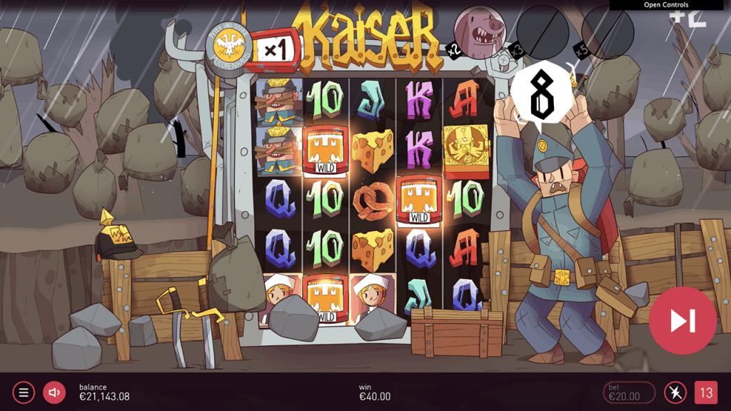 Kaiser slot free spins