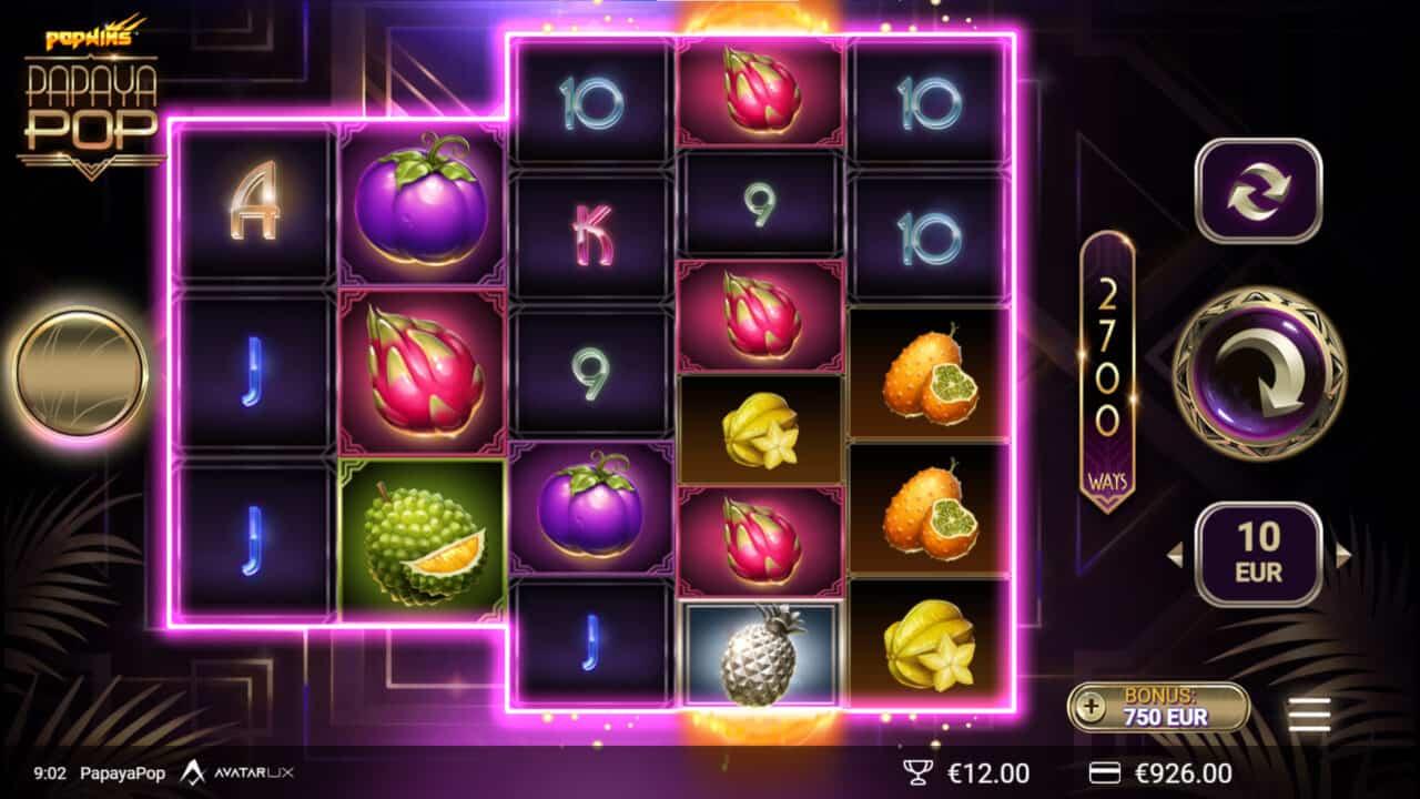 PapayaPop screenshot