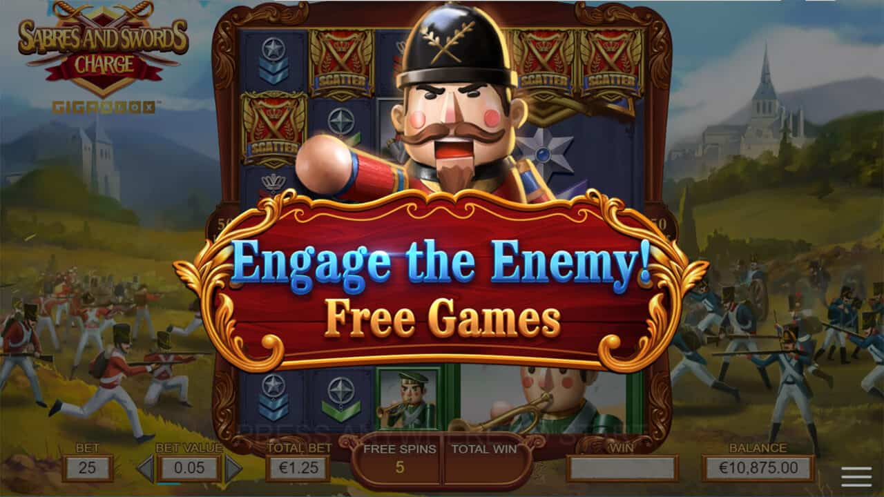 Swords and Sabres Charge Gigablox - Free Games