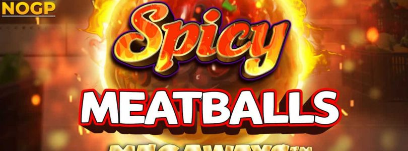 Spicy Meatballs Megaways video slot logo
