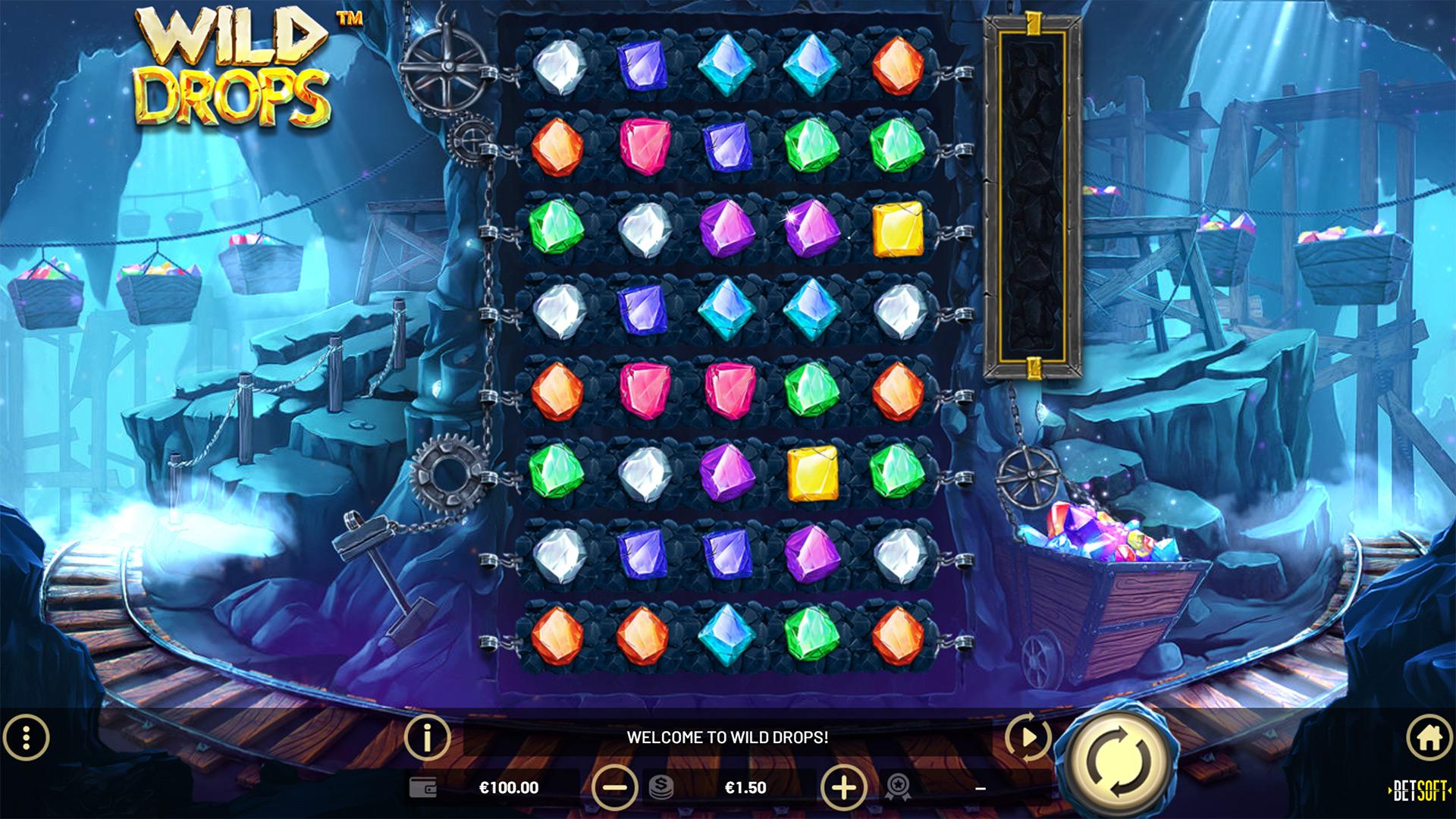 Wild Drops slot screenshot