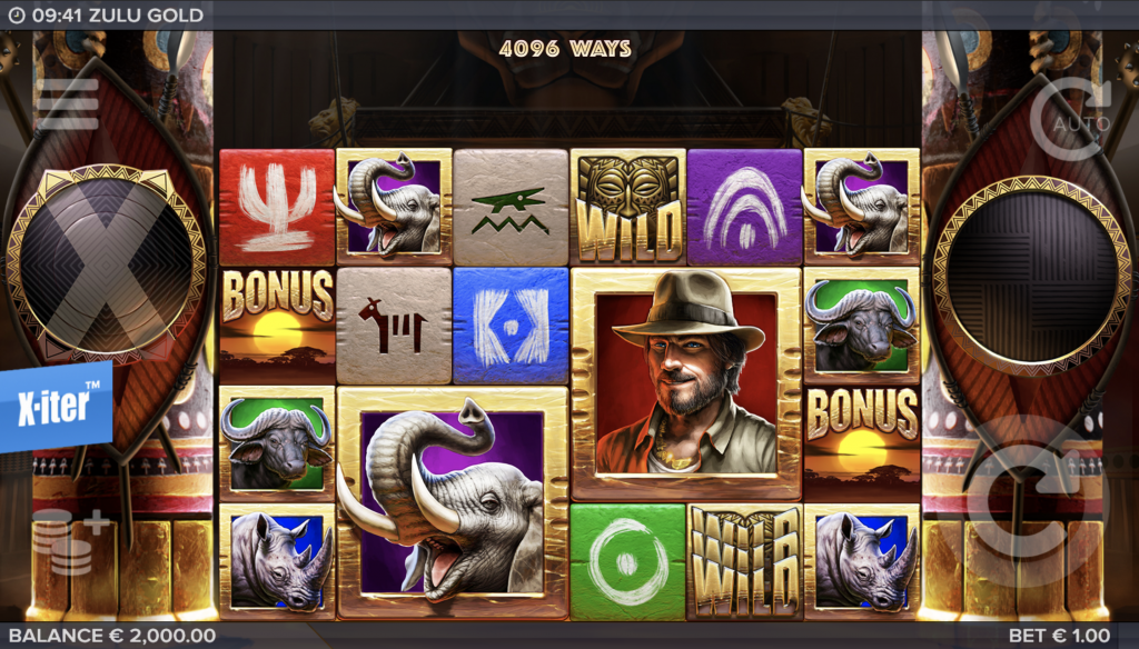 Zulu Gold Gokkast screenshot