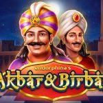 Akbar and Birbal video slot logo