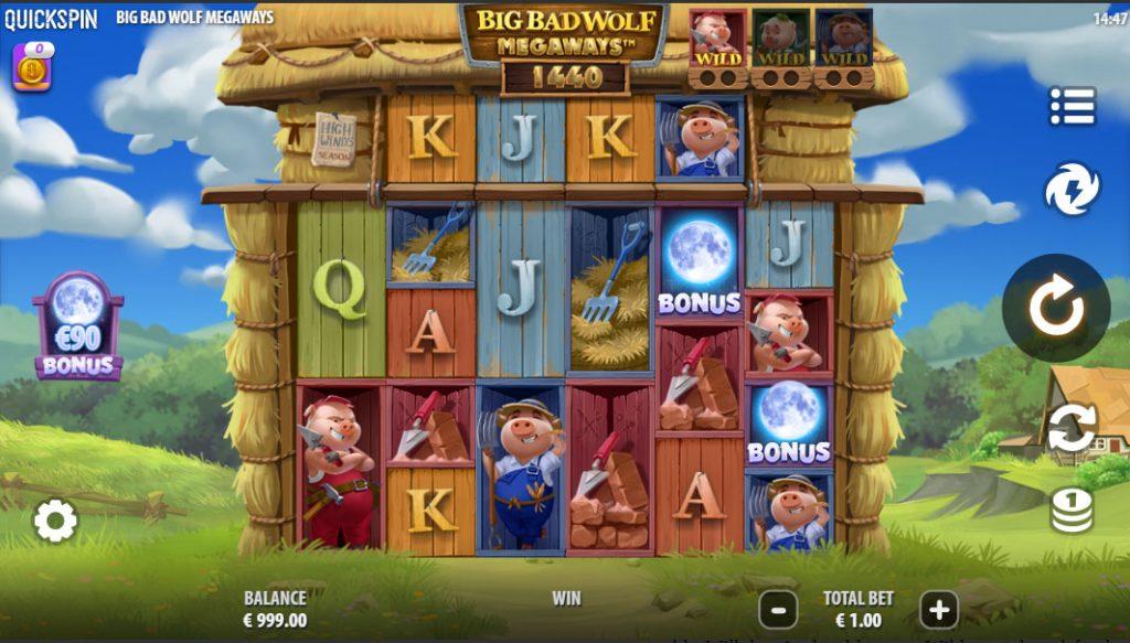 Big Bad Wolf Megaways screenshot