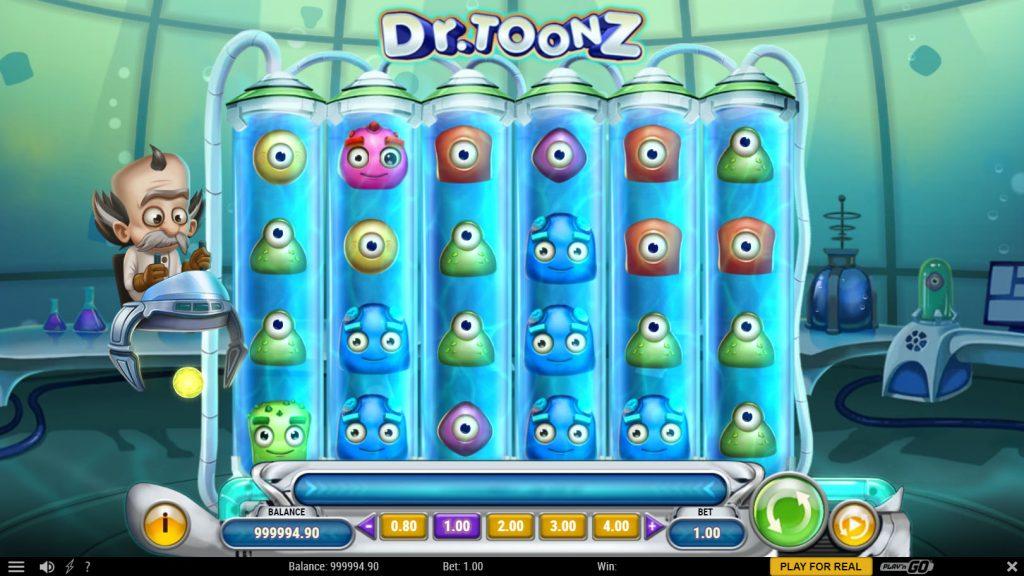 Dr Toons slot video slot screenshot