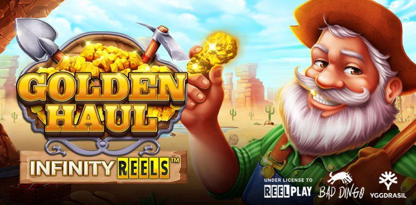 Golden Haul Infinity Reels video slot logo