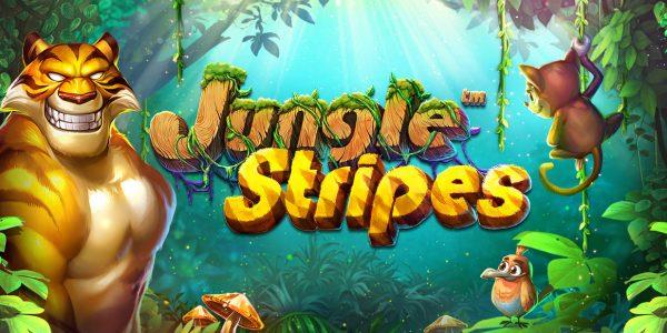 Jungle Stripes video slot logo