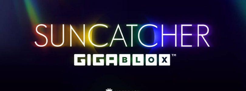 Suncatcher Gigablox video slot logo